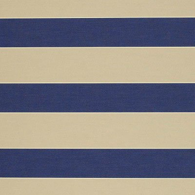 Sunbrella Med /  Canvas Block Stripe 4921 Fabric