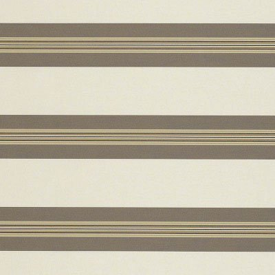 Sunbrella Taupe Tailored Bar Stripe 4945 Fabric
