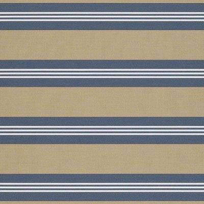Sunbrella Sapphire Vintage Bar Stripe 4948 Fabric