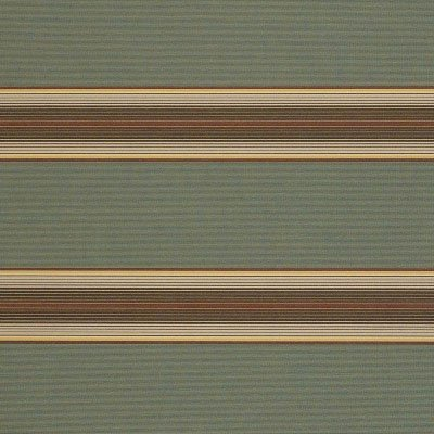Sunbrella Forest Vintage Bar Stripe 4949 Fabric