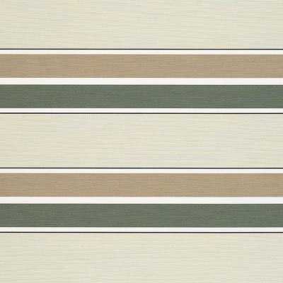 Sunbrella Fern / Heather Beige Stripe 4959 Fabric