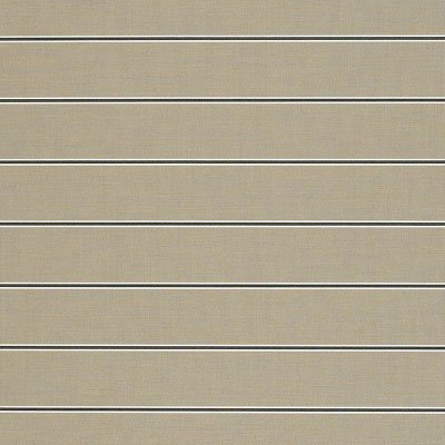 Sunbrella Putty Regimental 4961 Fabric