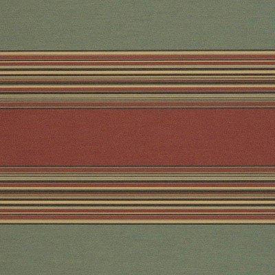 Sunbrella Henna / Fern Vintage 4969 Fabric